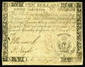 Colonial Notes:South Carolina, South Carolina October 19, 1776 $10 Choice About New. A much scarcer issue than the catalogs lead us to believe. CAA has off...