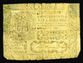 Colonial Notes:Virginia, Virginia April 5, 1759 5s Very Good. Unlike the 1759 issued from Pennsylvania, Virginia's issues are quite scarce. In recent...