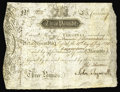 Colonial Notes:Virginia, Virginia July 17, 1775 L3 Very Fine-Extremely Fine. One of thenicest examples we've seen of this issue. The overly large si...