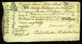 Colonial Notes:Virginia, Virginia September 1, 1775 20s Very Fine-Extremely Fine. This JamesRiver Bank Form gives the appearance of a nearly XF prob...