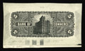 Canadian Currency: , Toronto, ON- Canadian Bank of Commerce $5 (1888 - 1912) Charlton75-14-02P thru 14aP Back Proof. This black and white proof ...