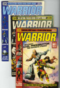 Magazines:Superhero, Warrior Group (Quality Communications Ltd., 1982-84) Condition:Average VG/FN.... (Total: 19 Comic Books)