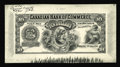 Canadian Currency: , Toronto, ON- Canadian Bank of Commerce $10 May 1, 1912 Charlton 75-14-26P Face Proof. Cross-hatch lines and extra ink are fo...