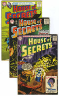 Silver Age (1956-1969):Mystery, House of Secrets Group (DC, 1963-65) Condition: Average VG....(Total: 6 Comic Books)