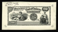 Canadian Currency: , Toronto, ON- Canadian Bank of Commerce $20 May 1, 1912 Charlton75-14-40P Face Proof. Each corner has a few cross hatch line...