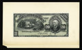 Canadian Currency: , Montreal, PQ- Banque D'Hochelaga 20 Piastres May 2, 1898 Charlton360-18-10Pa Face Proof. Mounted on card stock, this proof ...