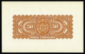 Canadian Currency: , Montreal, PQ- Banque D'Hochelaga $50 (Jan. 2, 1920) Charlton360-24-24P UNL Back Proof. Back proofs are not listed in Charlt...