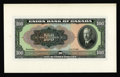 Canadian Currency: , Winnipeg, Manitoba- Union Bank of Canada $100 July 1, 1921 Charlton730-20-10P Face Proof. This delightful multi-colored $10...