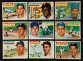 Baseball Cards:Sets, 1956 Topps Baseball Near Set (333/340) Plus Checklists and Five Team Variations. ...