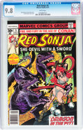 Bronze Age (1970-1979):Adventure, Red Sonja #5 (Marvel, 1977) CGC NM/MT 9.8 White pages....