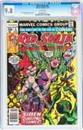 Bronze Age (1970-1979):Adventure, Red Sonja #6 (Marvel, 1977) CGC NM/MT 9.8 White pages....