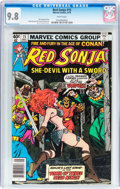 Modern Age (1980-Present):Miscellaneous, Red Sonja #15 (Marvel, 1979) CGC NM/MT 9.8 White pages....