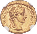 Ancients:Roman Imperial, Ancients: Tiberius (AD 14-37). AV aureus (19mm, 7.72 gm,7h). ...
