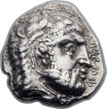 Ancients:Greek, Ancients: CYPRUS. Salamis. Evagoras I (ca. 411-374 BC). AR stateror didrachm (23mm, 10.35 gm, 7h)....