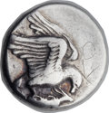 Ancients:Greek, Ancients: ELIS. Olympia. Ca. 432 BC. AR stater (24mm, 12.08 gm, 3h). ...
