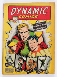Dynamic Comics #2 (Chesler, 1941) Condition: FR