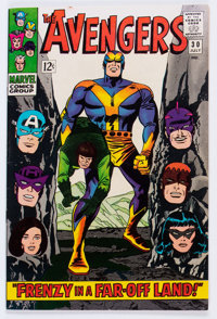 The Avengers #30 (Marvel, 1966) Condition: VF/NM