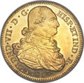 Colombia, Colombia: Ferdinand VII gold 8 Escudos 1813 P-JF AU58 PCGS,...