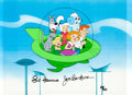 Animation Art:Seriograph, The Jetsons Hanna and Barbera Autographed Limited EditionCel #34/300 (Hanna-Barbera, 1989)....