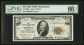 Small Size:Federal Reserve Bank Notes, Fr. 1860-I $10 1929 Federal Reserve Bank Note. PMG Gem Uncirculated 66 EPQ.. ...