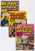 Golden Age (1938-1955):Horror, Black Magic Group (Prize, 1952-61) Condition: Average VG....(Total: 7 Comic Books)