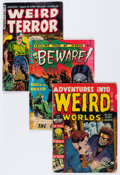 Golden Age (1938-1955):Horror, Comic Books - Assorted Golden Age Horror Comics Group (VariousPublishers, 1950s) Condition: Average GD-.... (Total: 35 ComicBooks)