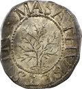 Colonials, 1652 SHILNG Oak Tree, IN at Left MS65 NGC. CAC. Noe-1, W-430, Salmon 1-A, R.3. ...