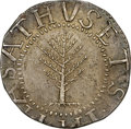 Colonials, 1652 SHILNG Pine Tree Shilling, Large Planchet MS64 NGC. Noe-2, W-700, Salmon 2-C, R.5....