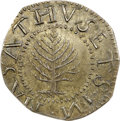 Colonials, 1652 SHILNG Pine Tree Shilling, Large Planchet MS65 NGC. Noe-4, W-720, Salmon 4-D, R.4....