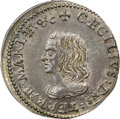 (1659) 4PENCE Maryland Lord Baltimore Groat (Fourpence), Large Bust, Hodder 1-A, W-1010, R.6, MS64 NGC. CAC....(PCGS# 32...