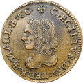 Colonials, (1659) Maryland Lord Baltimore Denarium (Penny), Hodder 1-A,W-1000, High R.7, MS62 Brown NGC. ...