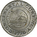 1776 $1 Continental Dollar, CURENCY, Pewter, Newman 1-B, Breen-1086, Hodder 1-A.2, W-8435, High R.7. MS64 NGC. CAC. ...(...