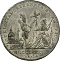 Betts Medals, 1783 MEDAL Treaty of Paris Medal. AU55 NGC. Crosby Page 370,Betts-614, High R.6. ...