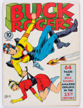 Golden Age (1938-1955):Science Fiction, Buck Rogers #2 (Eastern Color, 1941) Condition: VG+....