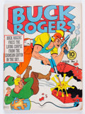 Golden Age (1938-1955):Science Fiction, Buck Rogers #3 (Eastern Color, 1941) Condition: VG/FN....