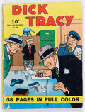Golden Age (1938-1955):Crime, Four Color (Series One) #21 Dick Tracy (Dell, 1942) Condition: GD/VG....