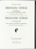 Books:Reference & Bibliography, [Bibliography]. Jacopo Gelli. Bibliografia Generale. Milan:Ulrico Hoepli, 1895. Second edition. Original cloth bind...