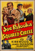 "Movie Posters:Sports, Joe Palooka in the Squared Circle (Monogram, 1950). One Sheet (27"" X 41""). Sports.. ..."