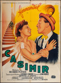 """Movie Posters:Foreign, 3 Feet in a Bed (Sirius, 1950). French Grande (46"""" X 63""""). Foreign. Original Title: Casimir.. ..."""
