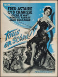 "Movie Posters:Musical, The Band Wagon (MGM, 1953). French Affiche (23.5"" X 31.5""). Musical.. ..."