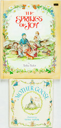 Books:Children's Books, Tasha Tudor. Pair of Children's Books. One first edition. Variouspublishers and dates. Publisher's pictorial bindings; one ...(Total: 2 Items)