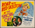 "Movie Posters:Comedy, The Show-Off (MGM, 1946). Half Sheet (22"" X 28""). Comedy.. ..."