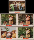 "Movie Posters:Adventure, Mogambo & Other Lot (MGM, 1953). Lobby Cards (5) & LobbyCard Set of 8 (11"" X 14""). Adventure.. ... (Total: 13 Items)"