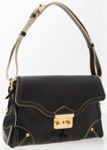 Luxury Accessories:Bags, Louis Vuitton Black Suhali Leather l'Essentiel Shoulder Bag. ...