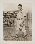 Autographs:Photos, 1911 Napoleon Lajoie Signed Photograph from The Frank W. Smith Collection, PSA/DNA Mint 9....