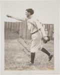 "Autographs:Photos, 1911 ""Shoeless Joe"" Jackson Signed Photograph from The Frank W. Smith Collection, PSA/DNA Mint 9...."