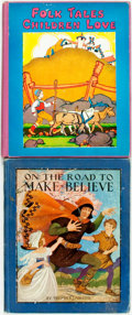 Books:Children's Books, [Children's] Pair of Illustrated Children's Books. Variouspublishers and dates. Large quartos. Publisher's pictorial bindi...(Total: 2 Items)
