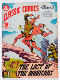 Golden Age (1938-1955):Classics Illustrated, Classic Comics #4 The Last of the Mohicans - First Edition(Gilberton, 1942) Condition: FN-....