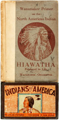 Books:Children's Books, [Children's]. [Native American]. Pair of Early Twentieth CenturyChildren's Books on Native American History and Culture. Va...(Total: 2 Items)
