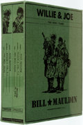 Books:Art & Architecture, [Cartoons]. Bill Mauldin. Willie and Joe: The WWII Years. Fantagraphics Books, 2008. First edition. Two quarto v... (Total: 2 Items)